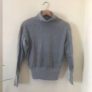 Made well Rivet and Thread Turtleneck Sweatshirt
